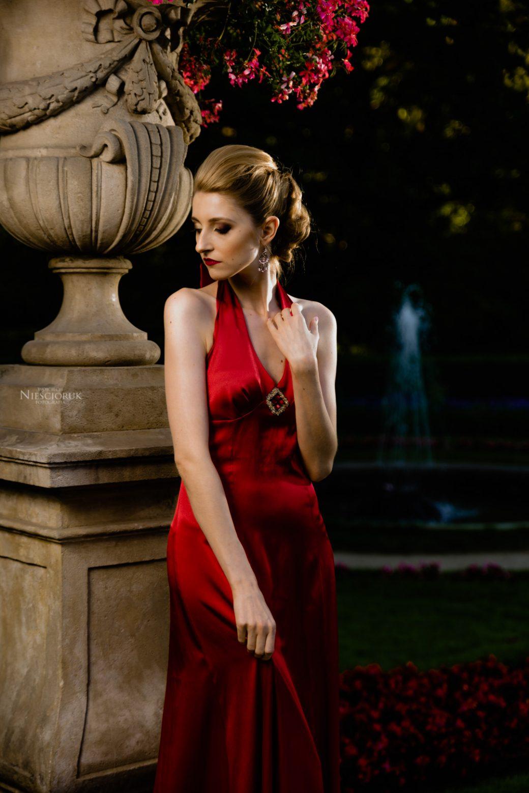zdjęcia reklamowe sukni